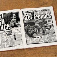 Personalised Queens Park Rangers Football Club Headline Book - Rangers Gifts