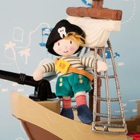 Pirate Tooth Fairy Soft Toy with Box - Pirate Gifts