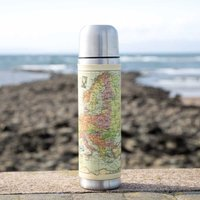 Personalised Map Flask - Flask Gifts
