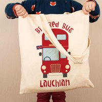 Kids Customised Bus Shoulder Bag - Shoulder Bag Gifts