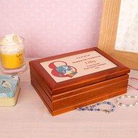 Xray Fish 8th Birthday Customised Musical Jewellery Box - Jewellery Box Gifts
