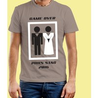 Stag Do: Game Over Customised T-Shirt - Stag Night Gifts
