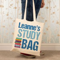 Personalised Study Shoulder Bag - Shoulder Bag Gifts