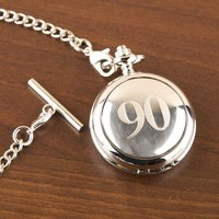 90th Birthday Pocket Watch - 90th Birthday Gifts