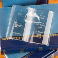 Personalised Crystal Bible - Bible Gifts