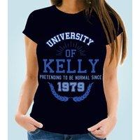 Ladies Pretending To Be Normal Custom Navy T-Shirt - Custom Gifts