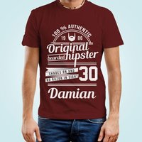 Personalised Original Hipster Mens T-Shirt - Hipster Gifts