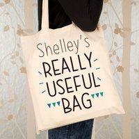 Personalised Really Useful Shopper Bag - Useful Gifts