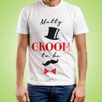 Custom Groom To Be T-Shirt - Custom Gifts