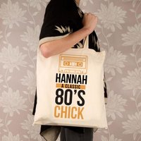 Personalised 80s Chick Shoulder Bag - Shoulder Bag Gifts