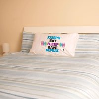 Personalised Eat Sleep Rave Repeat - 16th Birthday Gifts