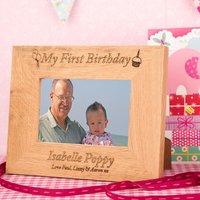 1st Birthday Wooden Frame - Forever Bespoke Gifts