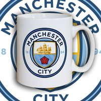 Bespoke Manchester City Manager Mug - Manchester City Gifts