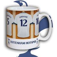 Customised Tottenham Hotspur Dressing Room Mug - Tottenham Hotspur Gifts
