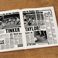 Bespoke West Ham United Football Club Headline Book - West Ham Gifts