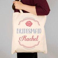 Custom Bridesmaid Tote Bag - Custom Gifts