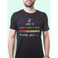 Customised Sarcastic Comment Loading Mens T-Shirt - 40th Birthday Gifts