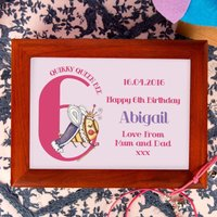 Queen Bee 6th Birthday Customised Musical Jewellery Box - Jewellery Box Gifts