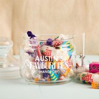 Personalised Favourite Sweets Glass Jar - 16th Birthday Gifts