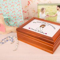 1st Holy Communion Musical Jewellery Box - First Holy Communion Gifts