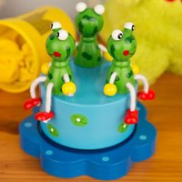 Merry Go Round Frog Music Box - Music Gifts
