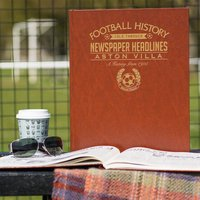 Customised Aston Villa Football Club Headline Book - Aston Villa Gifts