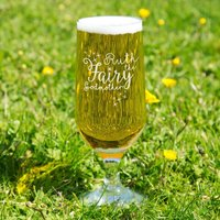 Fairy Godmother Customised Glass Beer Chalice - Godmother Gifts