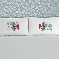 Mr And Mrs Penguin Pillowcase Set - Penguin Gifts