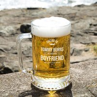 Customised Awesome Boyfriend Pint Tankard: Special Offer - Boyfriend Gifts