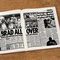 Customised Bradford City Football Club Headline Book - Bradford Gifts