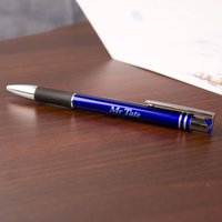 Luxury Writing Pen: Blue - Blue Gifts