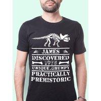 Prehistoric Dinosaur Mens Customised T-Shirt - Dinosaur Gifts