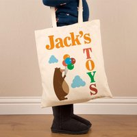 Personalised Toy Cotton Shoulder Bag - Shoulder Bag Gifts