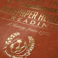 Bespoke Reading Football Club Headline Book - Reading Gifts