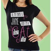 Crazy Cat Lady Custom Womens T-Shirt - Custom Gifts