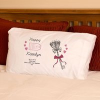 Personalised 18th Birthday Pillowcase - 18th Gifts