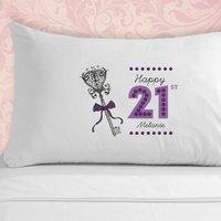 21st Birthday Pillowcase - 21st Gifts