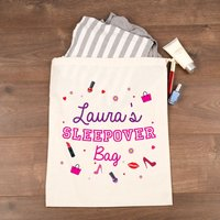 Personalised Sleepover Bag - 16th Birthday Gifts