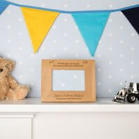 Naming Day Wooden Frame - Naming Day Gifts