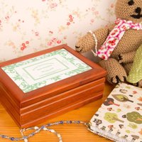 1st Holy Communion Jewellery Box: Mint Green - First Holy Communion Gifts