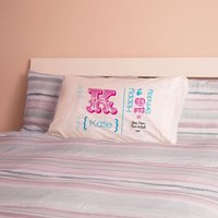 Personalised 16th Birthday Letter Pillowcase For Girls - 16th Birthday Gifts