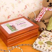 First Birthday Customised Musical Jewellery Box - Jewellery Box Gifts