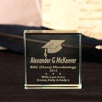 Graduation Glass Keepsake - Graduation Gifts