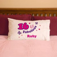 Girls 16 And Fabulous Pillowcase - 16th Birthday Gifts