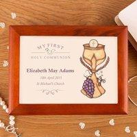 Communion Musical Jewellery Box: Eucharist - Jewellery Box Gifts
