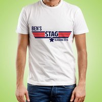 Personalised Cult Classic Stag Do T-Shirt - Stag Night Gifts