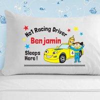 Racing Driver Pillowcase - Racing Gifts