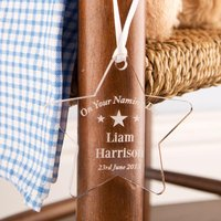 Personalised Naming Day Star - Naming Day Gifts