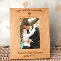 Personalised 1st Holy Communion Frame: Portrait - First Holy Communion Gifts