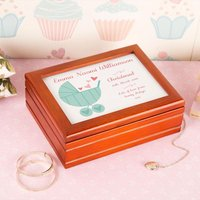 Personalised Baby Pram Musical Jewellery Box - Jewellery Box Gifts